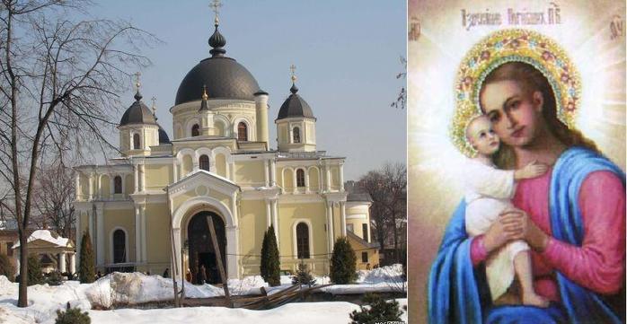 Покровский монастырь и икона Взыскание погибших, написанная по благословению св. Матроны