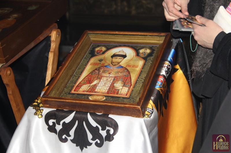 Фотогалерея Чудотворная мироточивая икона Царя Николая